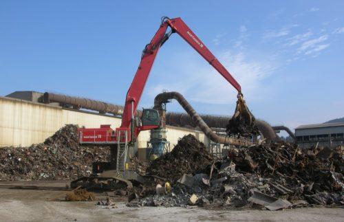 Mantsinen 70 ER scrap 3 | Container Handling Equipment |