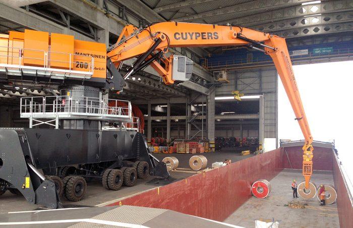 Mantsinen200M pic4   Container Handling Equipment  