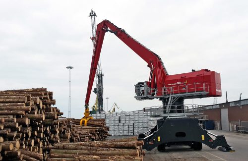Mantsinen 160M pic4 | Container Handling Equipment |