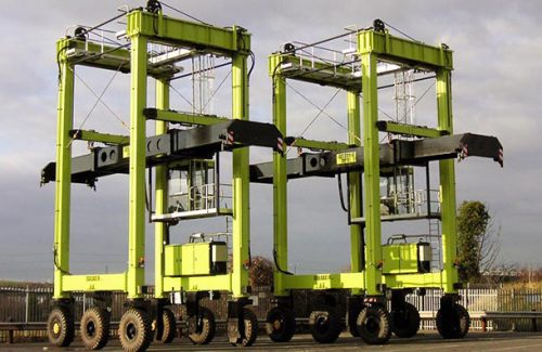 TRANSPORTER primary ISOLOADER | Container Handling Equipment |