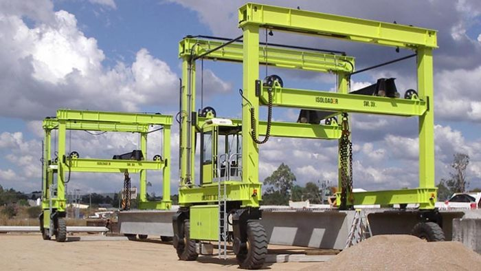 double load close   Container Handling Equipment  