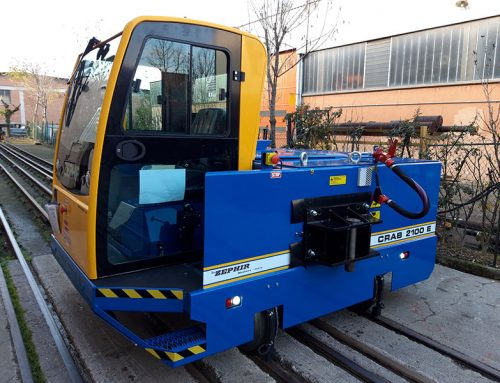 ABINBEV Go Green With Leading Edge Electrical Rail Shunting Locomotive